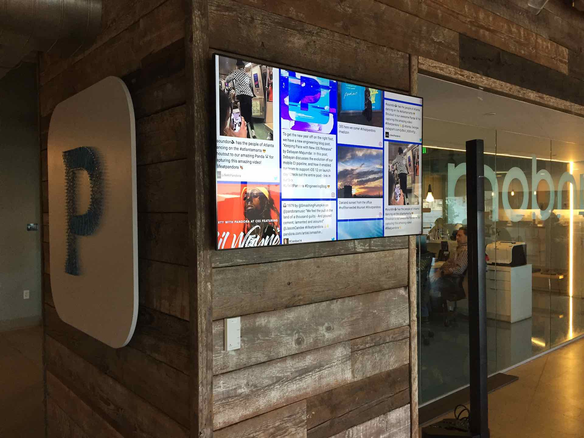managing digital signage content